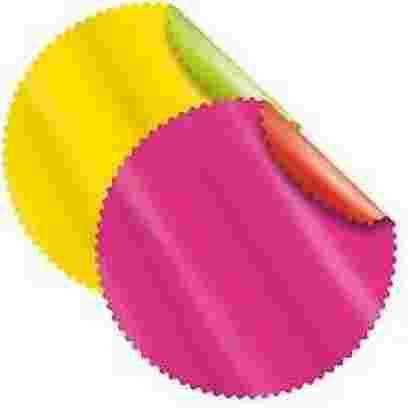 80 blondas unies mat simple (20*4colores) 48cm (80pcs/boox)