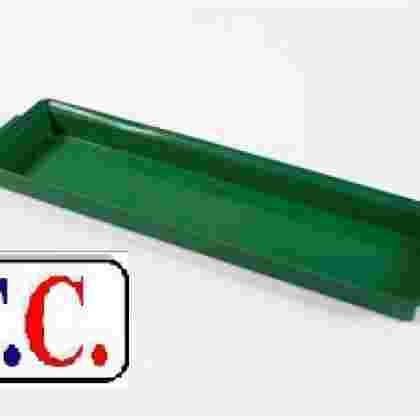 Bandeja plastico ECO 2 pastilla larga 40 unds