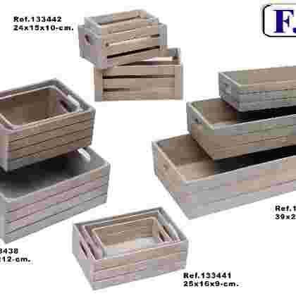 Caja madera vintage j/3
