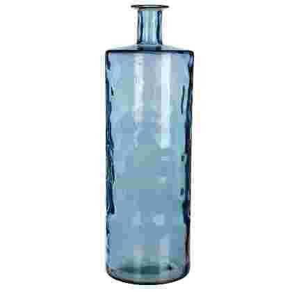 Guan botella cristal Azul  Cristal