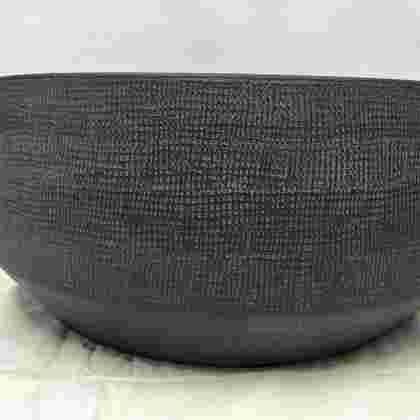 Guido bowl round grey