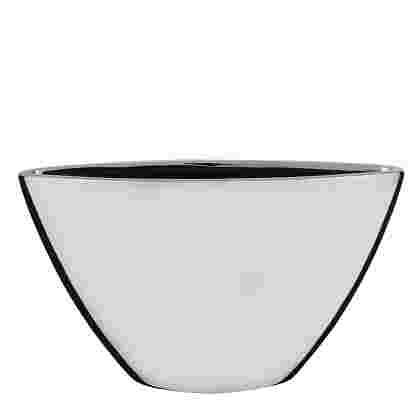 Kyra maceta oval Plata  Ceramica