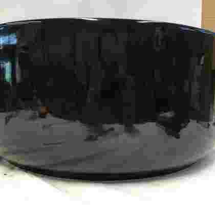 Lars bowl round black set of 3