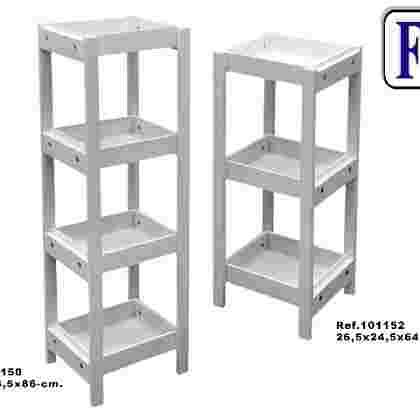Mueble 3/b desmontable blanco