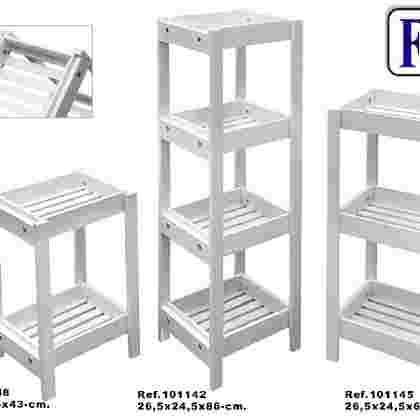 Mueble 4/b desmontable blanco