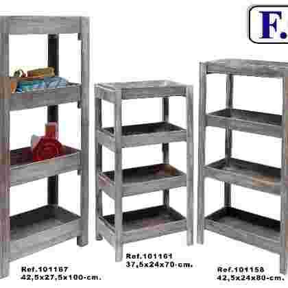 Mueble 4/b desmontable gris