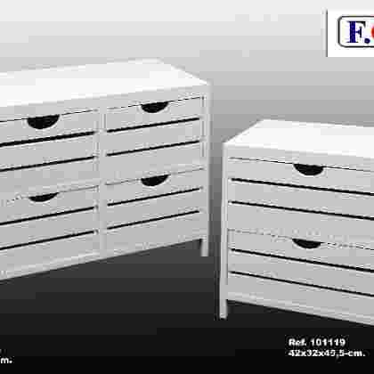 Mueble 4/c blanco
